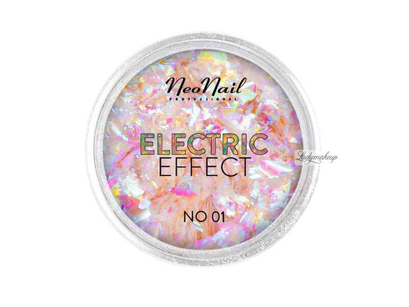 NeoNail - ELECTRIC EFFECT - Metaliczny pyłek do paznokci - 01