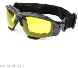 Okulary ochronne SAMPREYS SA 880 szybki żółte