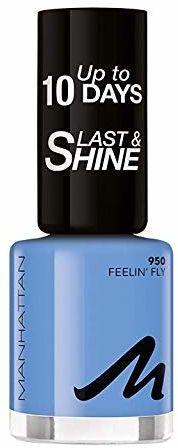 Manhattan Last und Shine lakier do paznokci, nr 950 Feelin'' Fly, 1 opakowanie (1 X 10 ml)