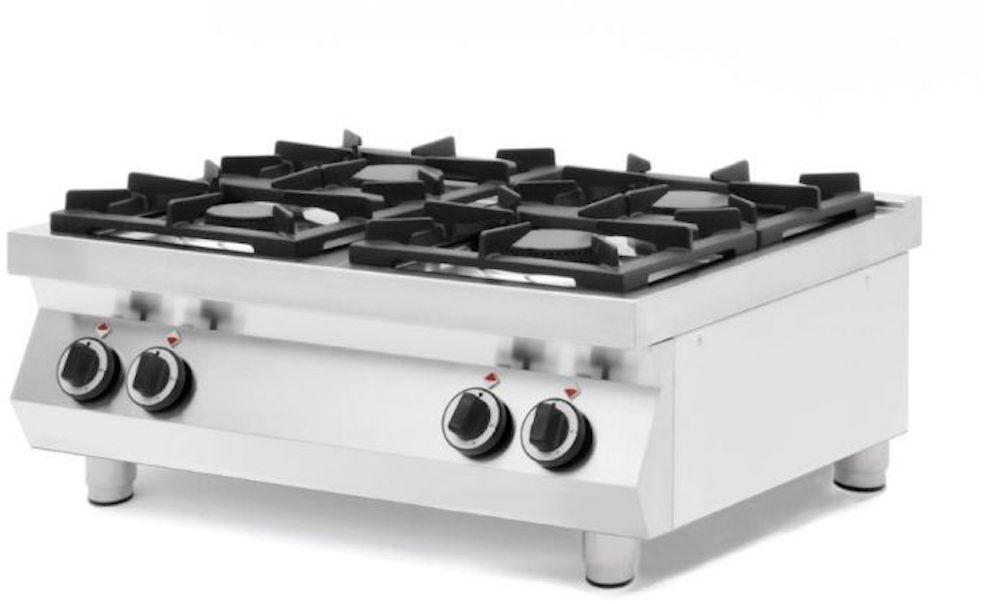 Kuchnia gazowa 4-palnikowa stołowa Kitchen Line