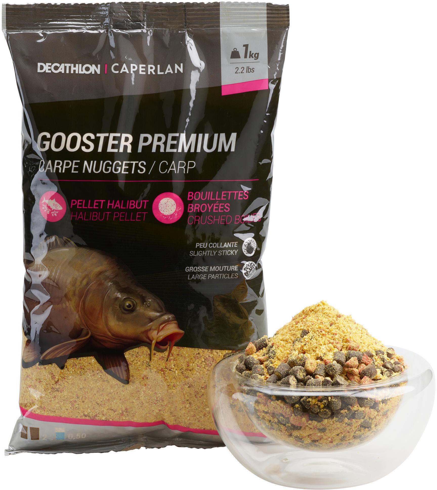 Zanęta Gooster Premium Karp Nuggets 1kg