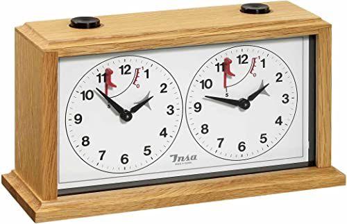 """Philos 4682 Buk """"Insa"""" mechaniczny zegar szachowy"""