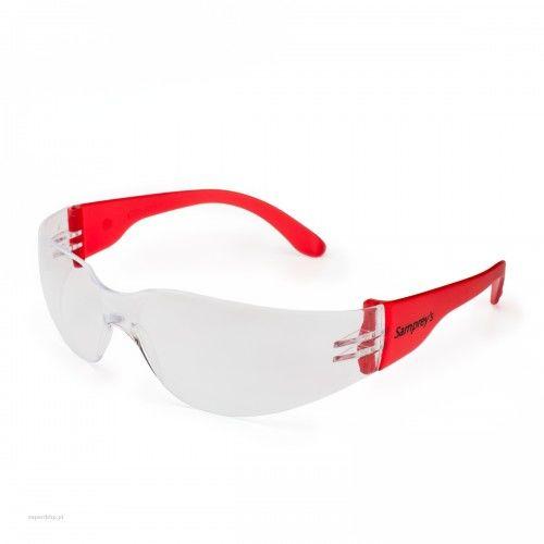 Okulary ochronne SAMPREYS SA 130 szybki bezbarwne