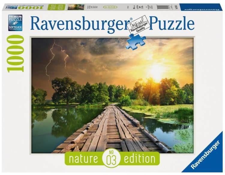 Puzzle 1000 Mistyczne niebo - Ravensburger