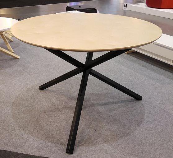 Okrągły stół drewniany do salonu Inelo R3