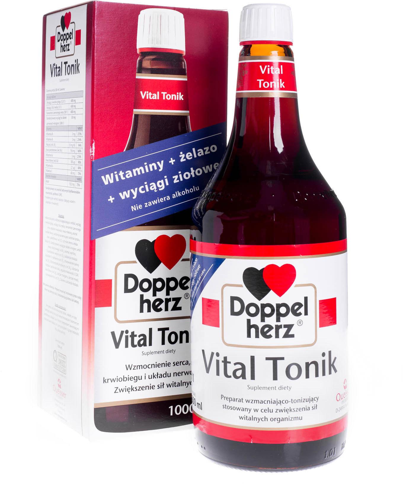 Doppelherz Vital Tonik, 1000 ml