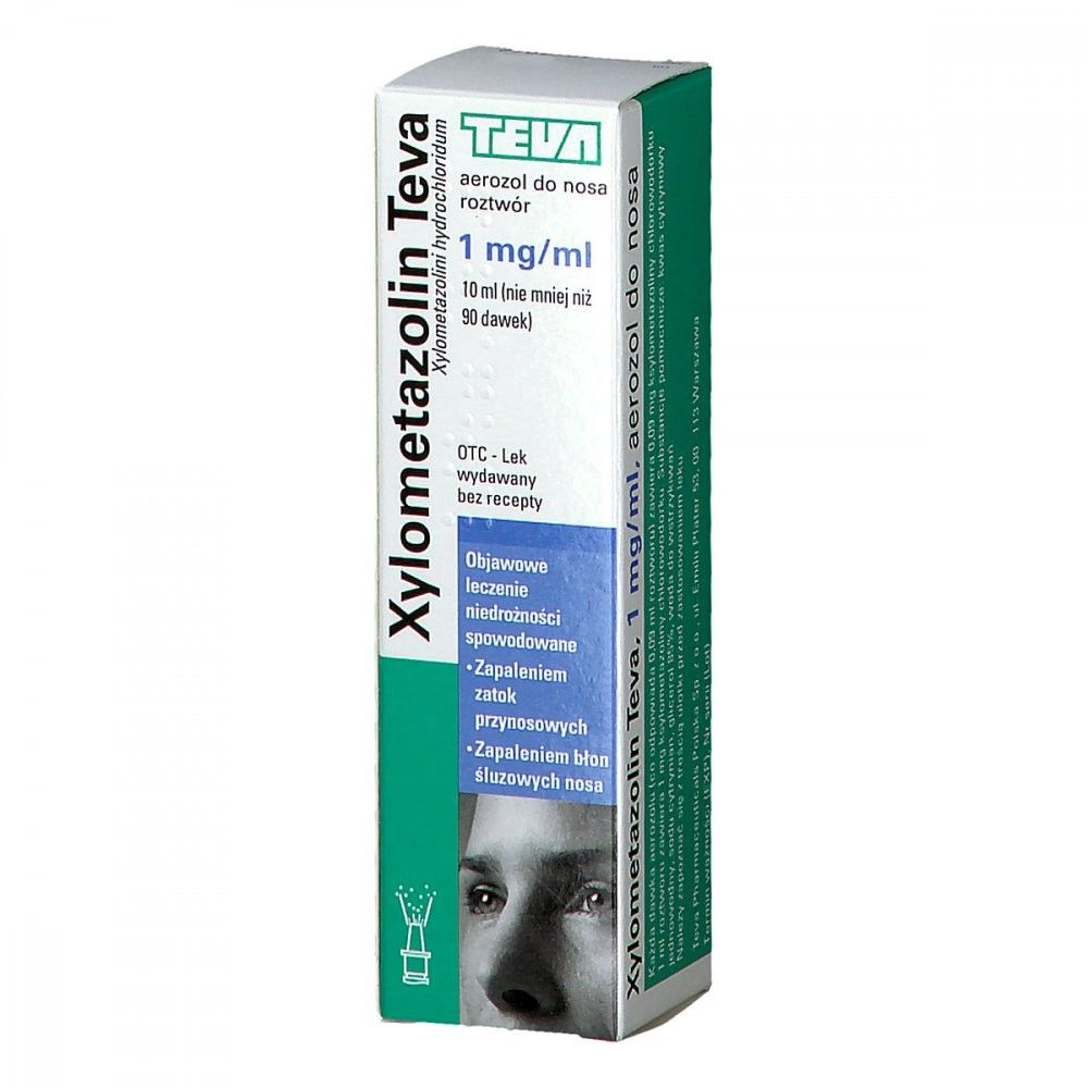 Xylometazolin Teva aerozol do nosa 1 mg/ml