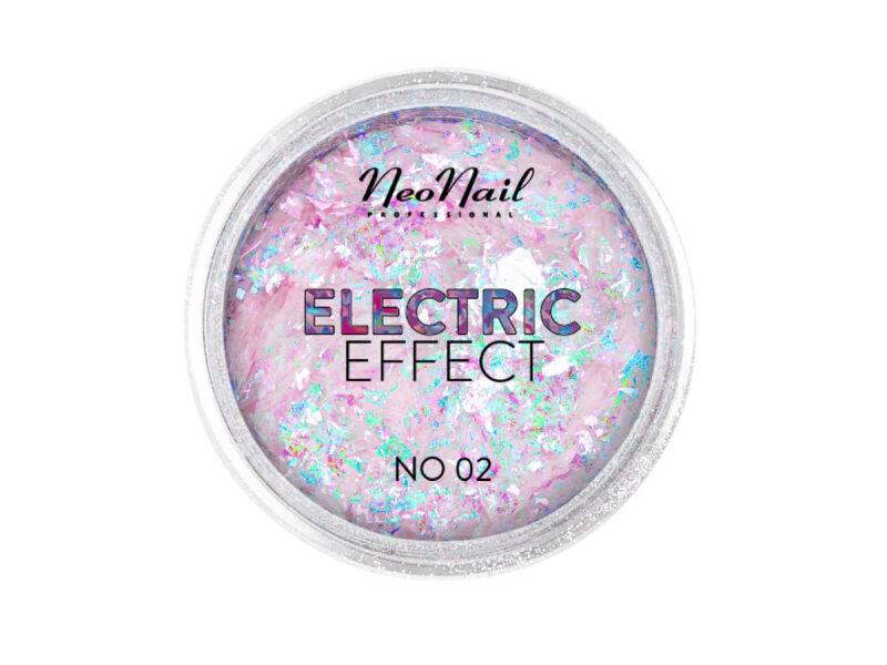 NeoNail - ELECTRIC EFFECT - Metaliczny pyłek do paznokci - 02