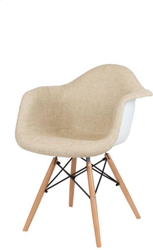 Sk Design Kr012f Beżowy Tapicerowany Fotel Buk