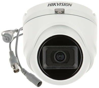 KAMERA WANDALOODPORNA AHD, HD-CVI, HD-TVI, PAL DS-2CE76H0T-ITMF(2.8mm)(C) - 5Mpx Hikvision