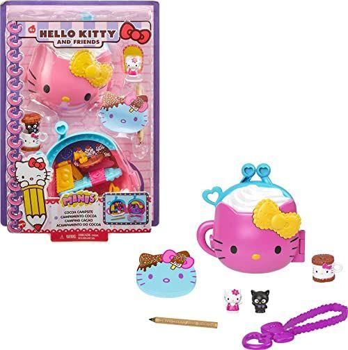 Hello Kitty Sanrio GVB29 Hello Kitty i przyjaciele Minis Cocoa Camp