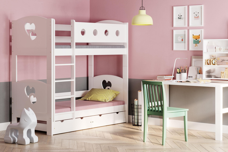 Łóżko piętrowe dla dzieci Dream