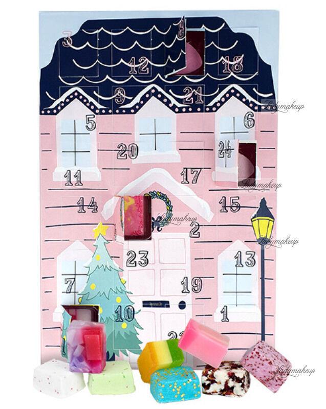 Bomb Cosmetics - The Bomb Advent Calendar - Kalendarz Adwentowy z kosmetykami do kąpieli - SANTA STOP HERE