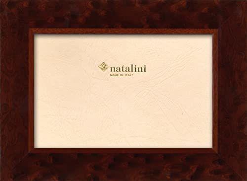 Natalini Ramka na zdjęcia Marquetry wykonana we Włoszech, tulipan, wiąz, 10 x 15 cm