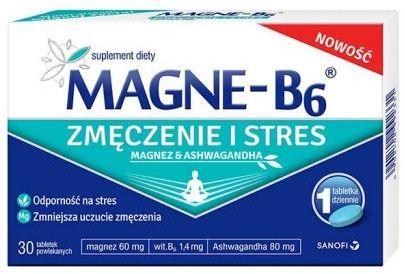 Magne-B6 Zmęczenie i Stres 30 tabletek