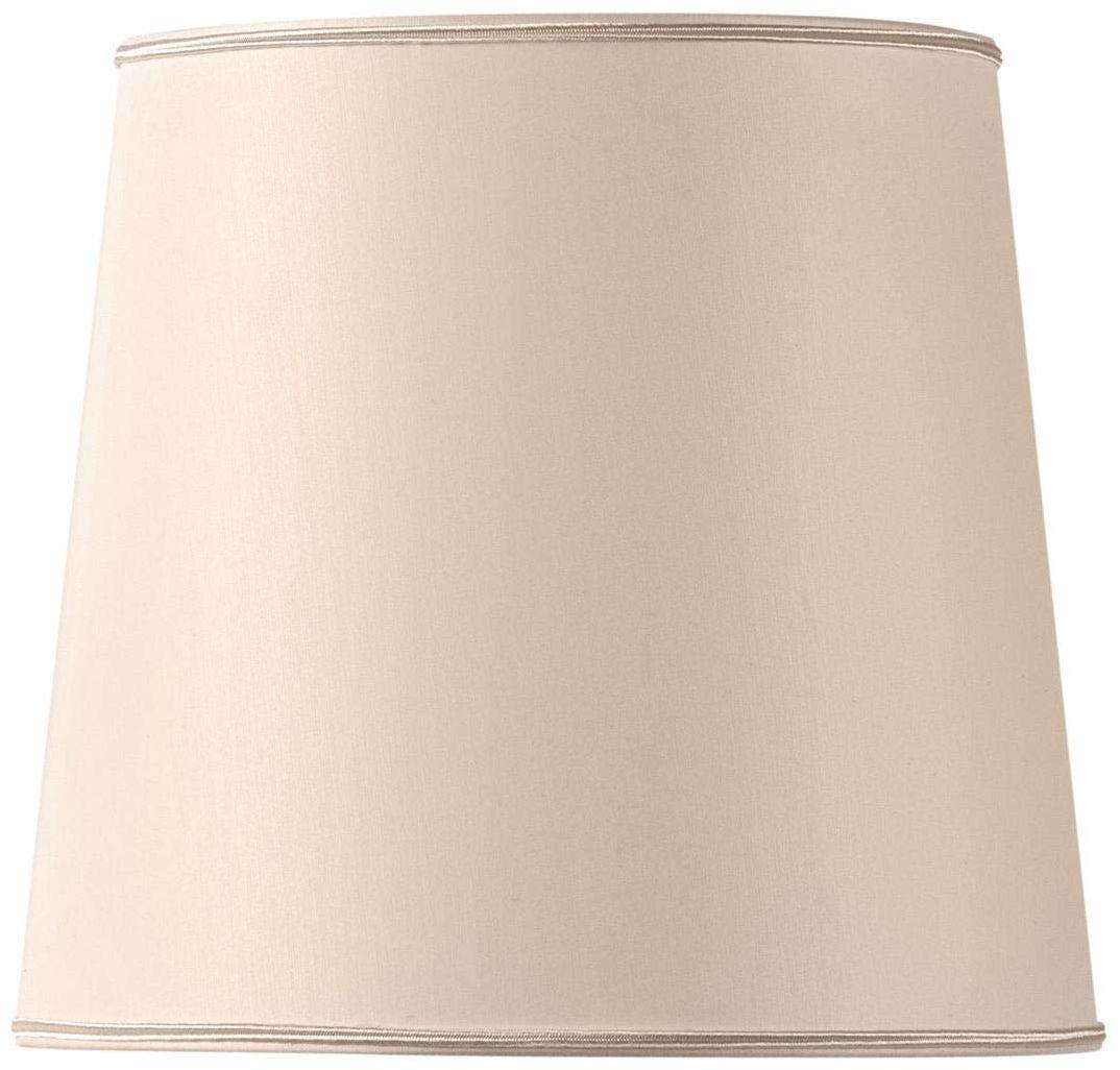 Klosz lampy w kształcie litery U, 30 x 25 cm, beżowy/różowy
