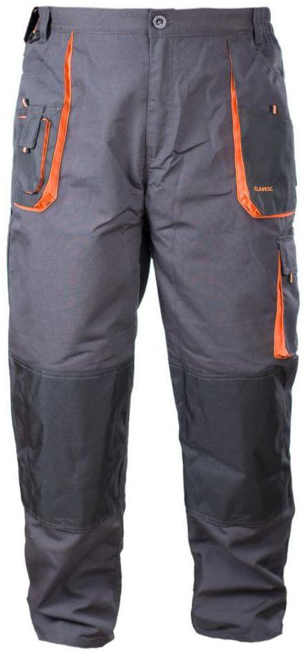 Spodnie robocze r. M/50 szare CLASSIC NORDSTAR