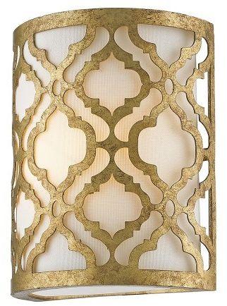 Arabella Distressed Gold - Elstead Lighting - kinkiet klasyczny