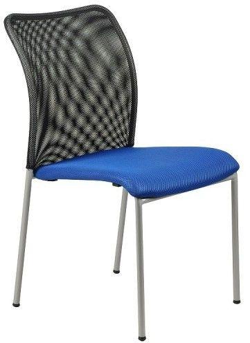 Krzesło konferencyjne HN-7502a / niebieski -czarny - Stema
