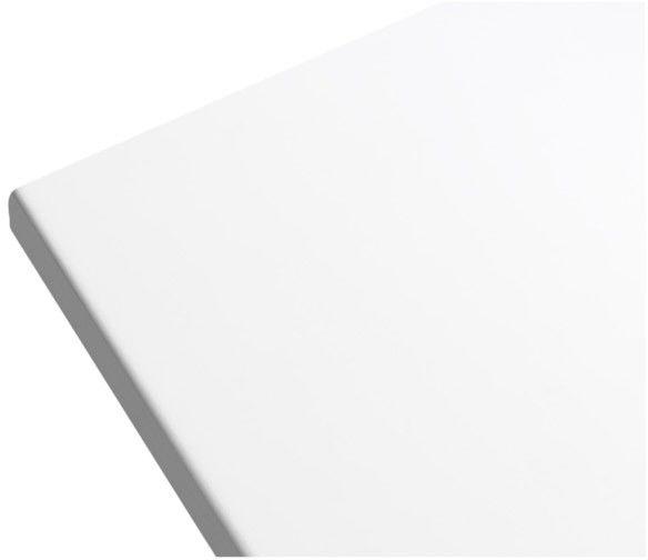 Blat łazienkowy GoodHome Marloes 45 x 80 cm biały lakier