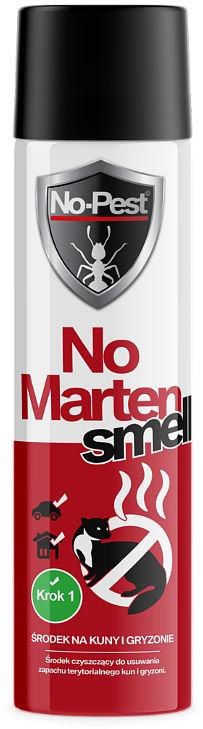 Preparat na kuny do samochodu. Zmywacz zapachu NO-MARTEN SMELL.