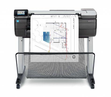 Urządzenie wielofunkcyjne HP DesignJet T830 MFP (610 mm) GOLD PARTNER HP 2019 + 50m papieru gratis (F9A28A)