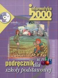 Informatyka, klasa 4-6, Informatyka 2000, podręcznik, Czarny Kruk +CD - Białowąs, Chmielewska