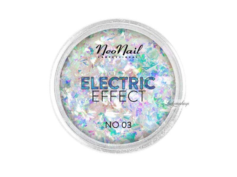 NeoNail - ELECTRIC EFFECT - Metaliczny pyłek do paznokci - 03