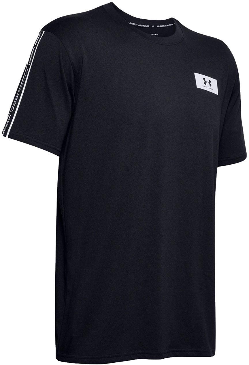 Koszulka termoaktywna Under Armour Originators Shoulder SS Black (1351630-001)