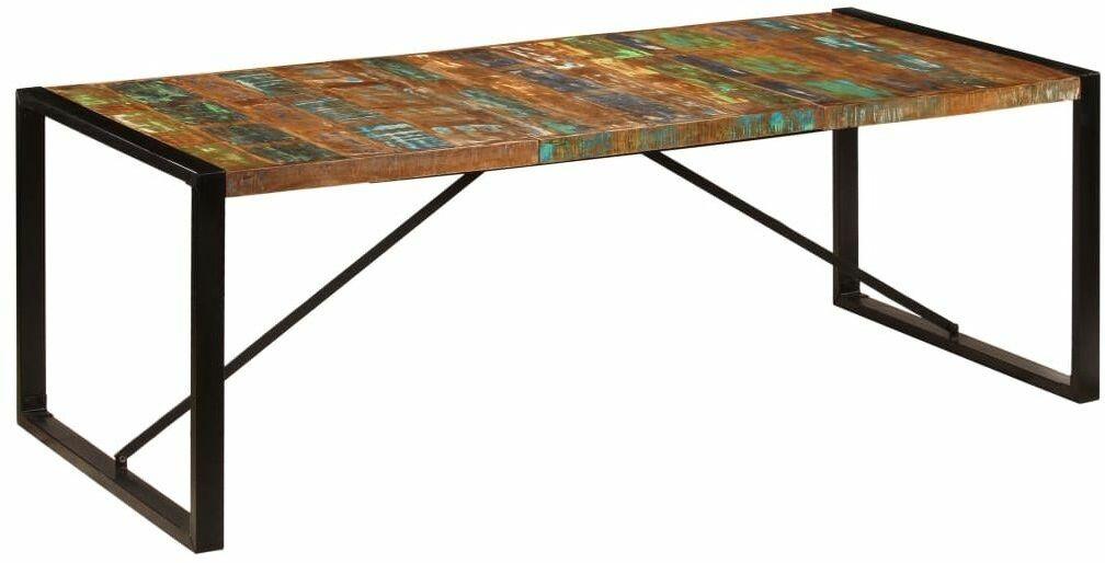 Wielokolorowy stół 100x220 - Veriz 6X