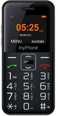 Telefon MYPHONE Halo Easy Czarny>>> Zyskaj 50zł za każde wydane 500zł! Sprawdź jak!