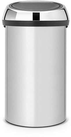 Kosz TOUCH BIN 60L Metallic Grey