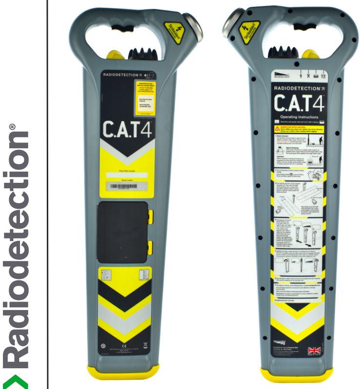 Radiodetection Wykrywacz instalacji podziemnych CAT4 z Strike Alert