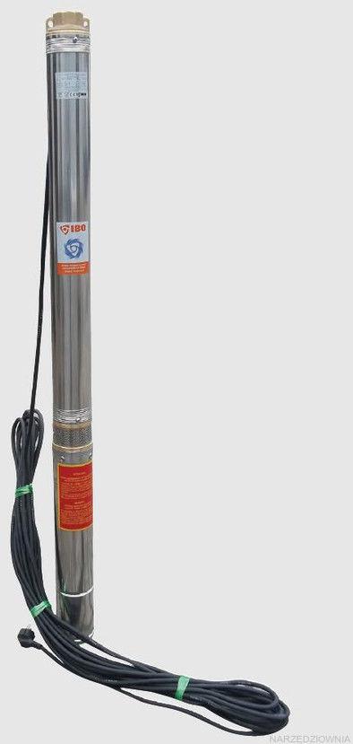 """IBO 3,5 SDM 3-11 pompa głębinowa o podwyższonej odporności na piasek 3,5"""" - 0,8 kW z 20 metrowym kablem"""