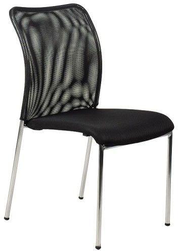 Krzesło konferencyjne HN-7502ch / czarny / stelaż chromowany - Stema