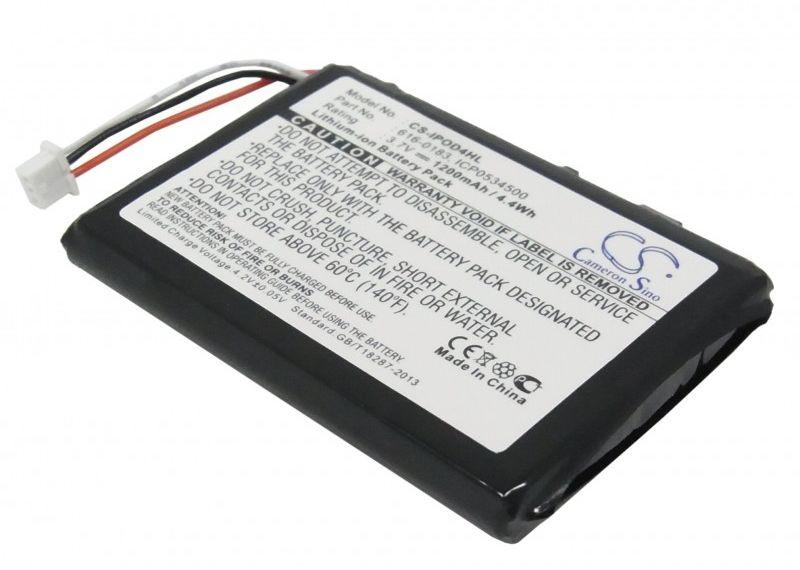 Apple iPod 4th Generation / 616-0183 1200mAh 4.44Wh Li-Ion 3.7V (Cameron Sino)