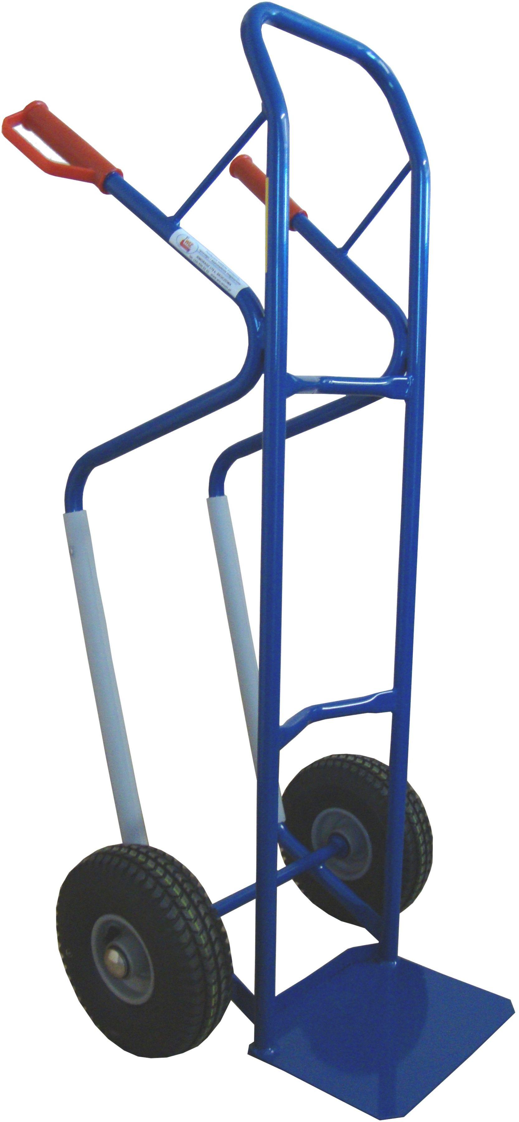 Wózek dwukołowy taczkowy 2K ślizgi/b