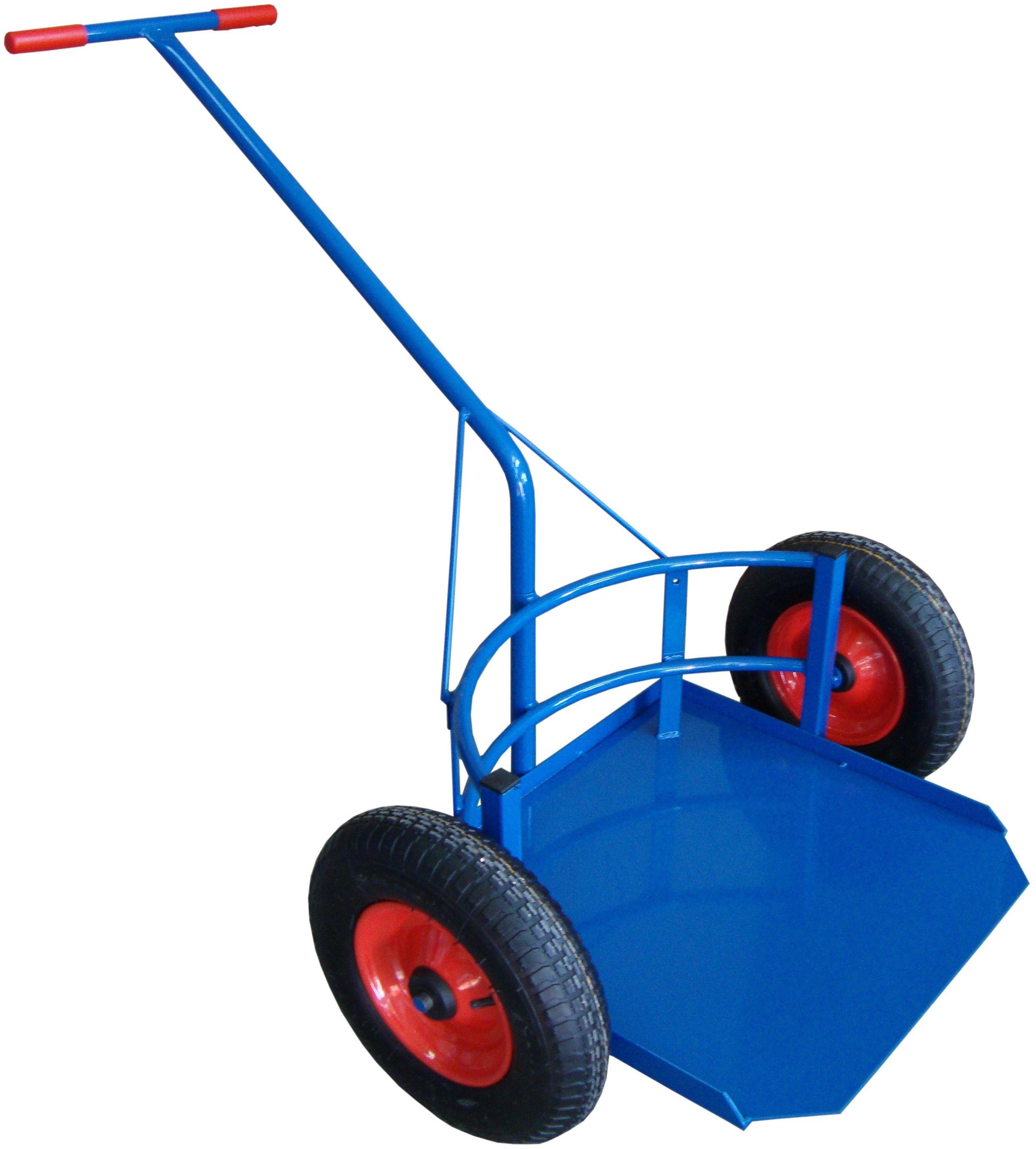 Wózek dwukołowy taczkowy do dużych donic