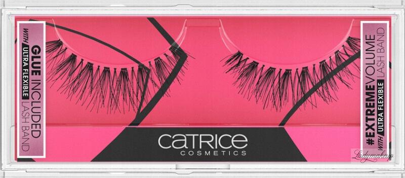 Catrice - Lash Couture #INSTAEXTREME Volume Lashes - Sztuczne rzęsy na pasku + klej