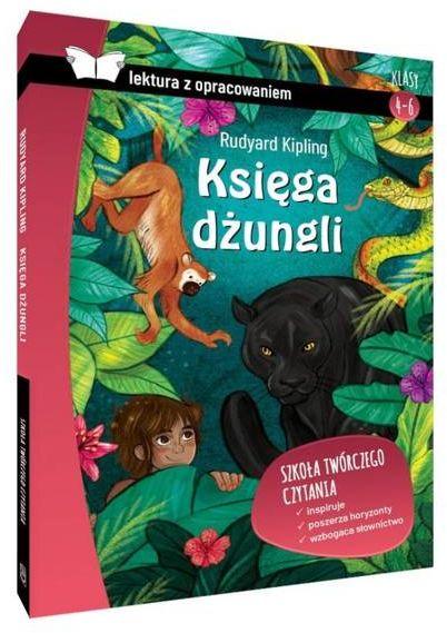 Księga dżungli. Lektura z opracowaniem - Rudyard Kipling