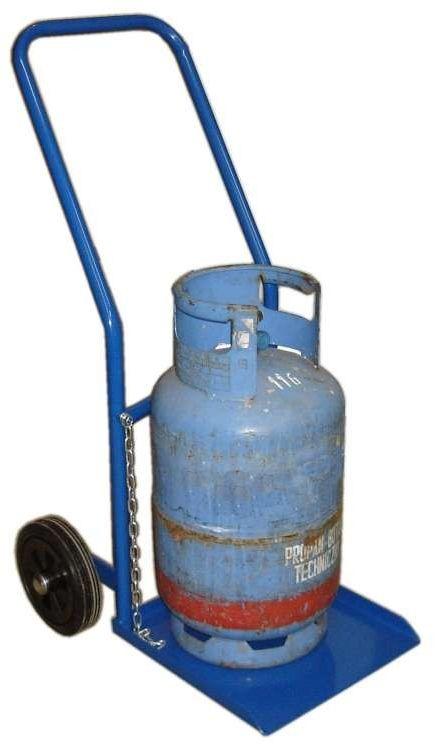 Wózek dwukołowy taczkowy spawalniczy na butle z gazem