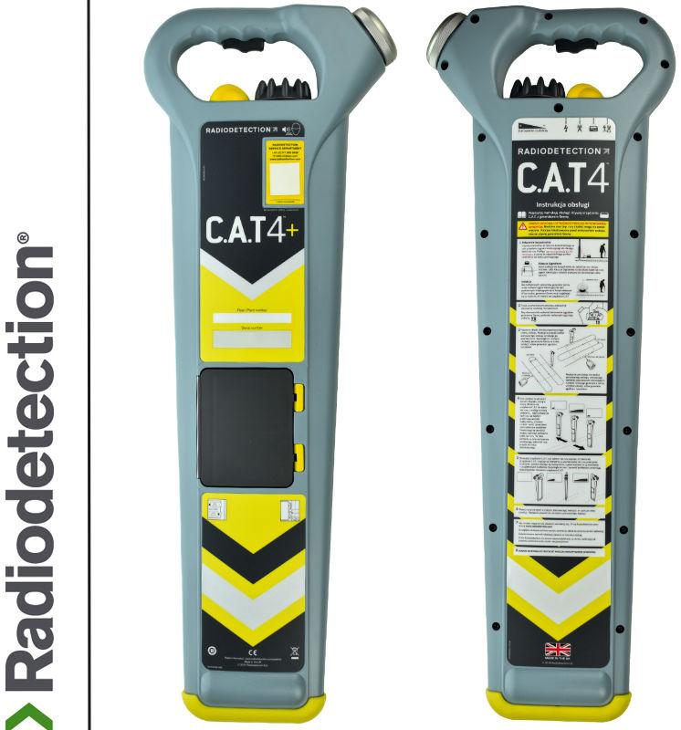 Radiodetection Wykrywacz instalacji podziemnych CAT4+