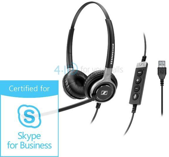 Sennheiser SC 660 USB ML słuchawka z mikrofonem do PC (złącze USB-A)