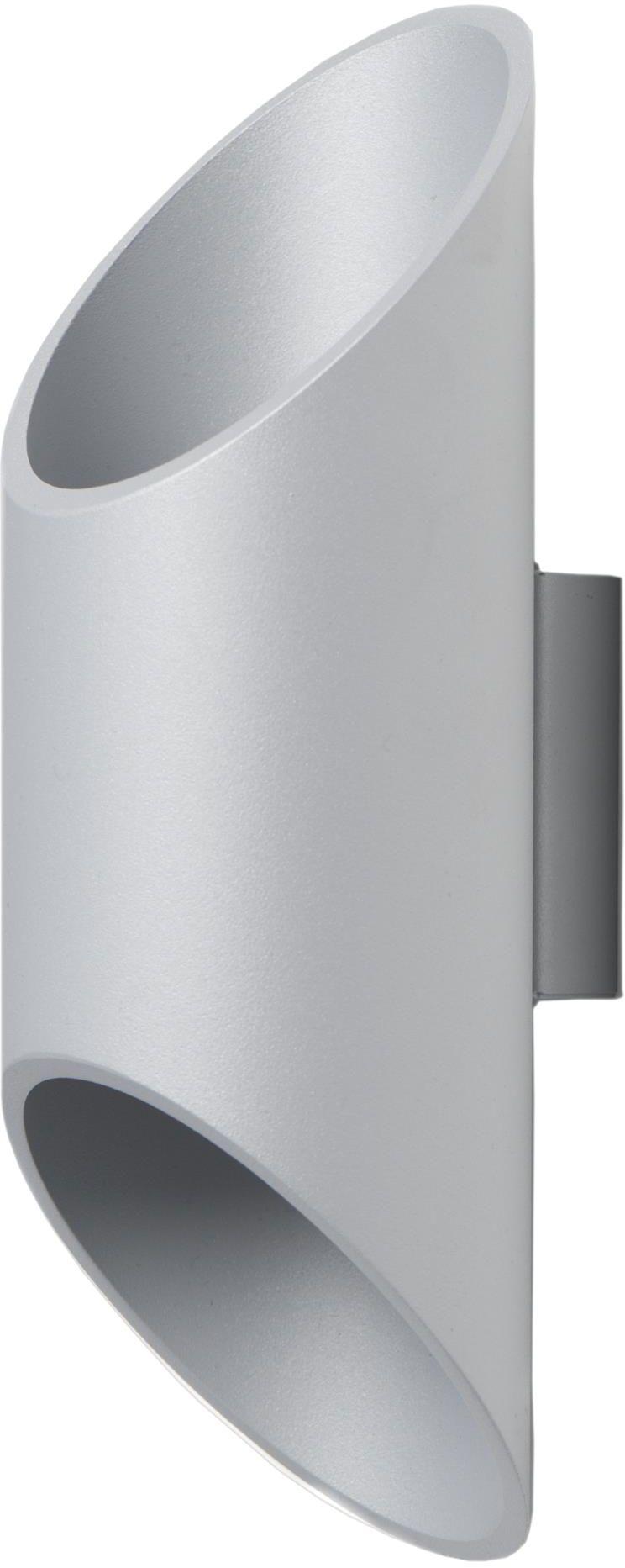 Lampex Wera popiel 593/K POP kinkiet lampa ścienna nowoczesny metalowy klosz popiel G9 1x40W 10cm