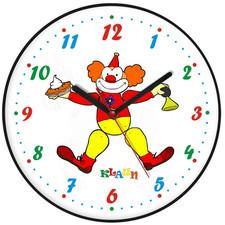 Zegar ścienny dla dzieci klaun