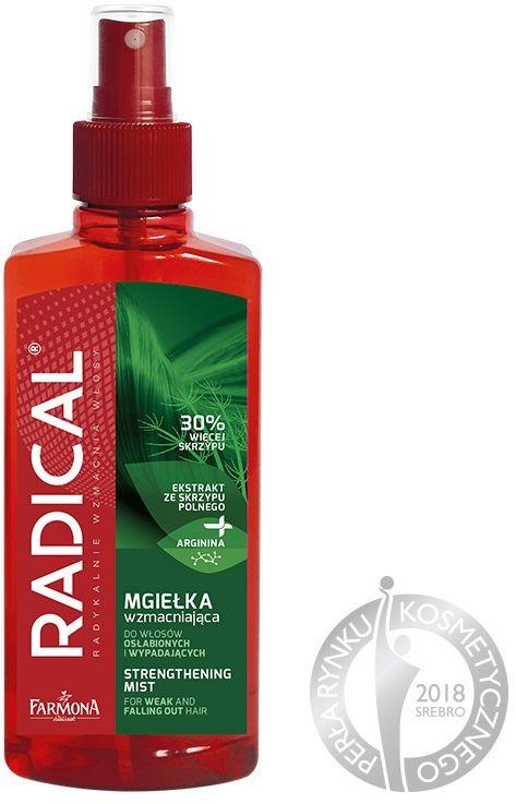 RADICAL Mgiełka wzmacniająca do włosów osłabionych i wypadających 200ml