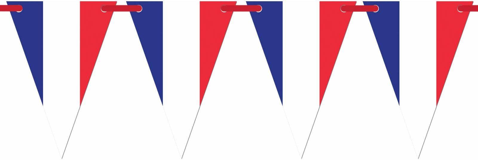 Baner wiszący Flaga Francji - 5 m