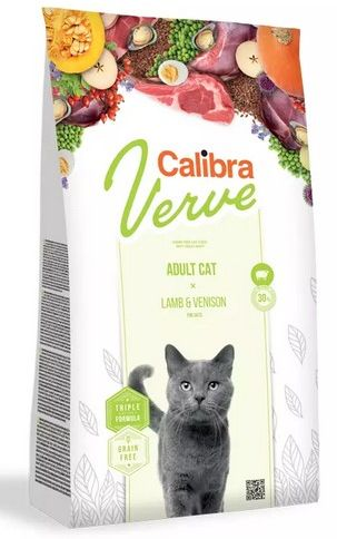 Calibra Verve Cat GF Adult Lamb&Venison 8+ 3,5 kg