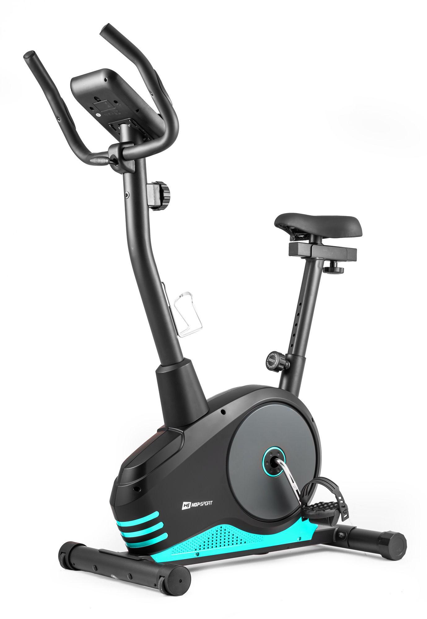Rower magnetyczny HS-2080 Spark czarno-turkusowy