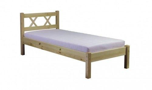 Łóżko sosnowe Modern